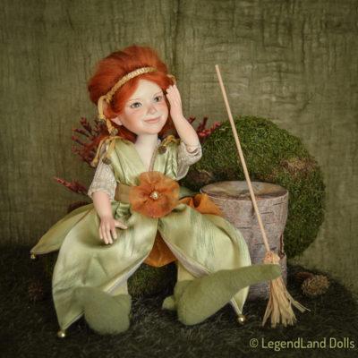Arabella boszorkány figura