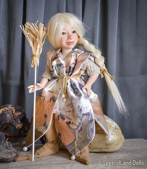 Boszorkány figura: Belinda a tündéri boszorkány