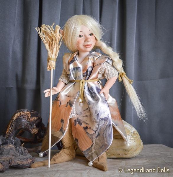 Boszorkány figura - Belinda tündéri boszorkány | LegendLand Dolls