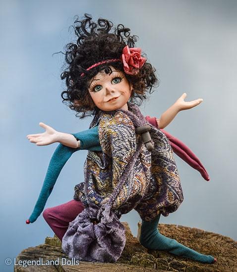 Elf figura - Becca a mókás kis elf
