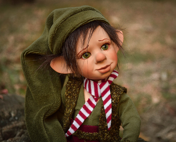 Koboldok és manók - Szerencsehozó lények | LegendLand Dolls