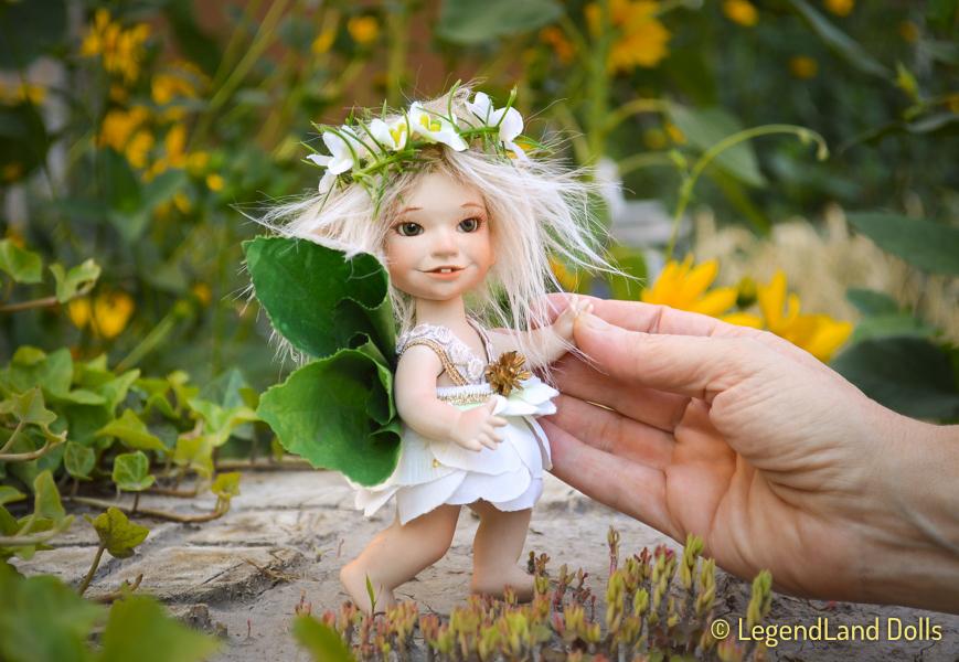 Virágtündér figura: Kamilla - icipici virágtündér