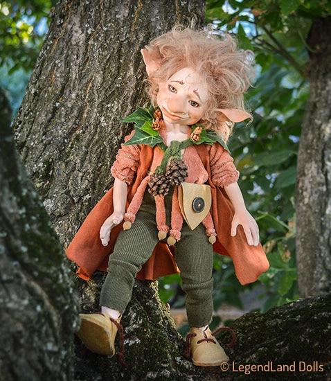 Kobold figura: Robin - hősies kobold