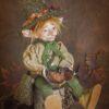 Kobold figura: Elemér – erdész kobold