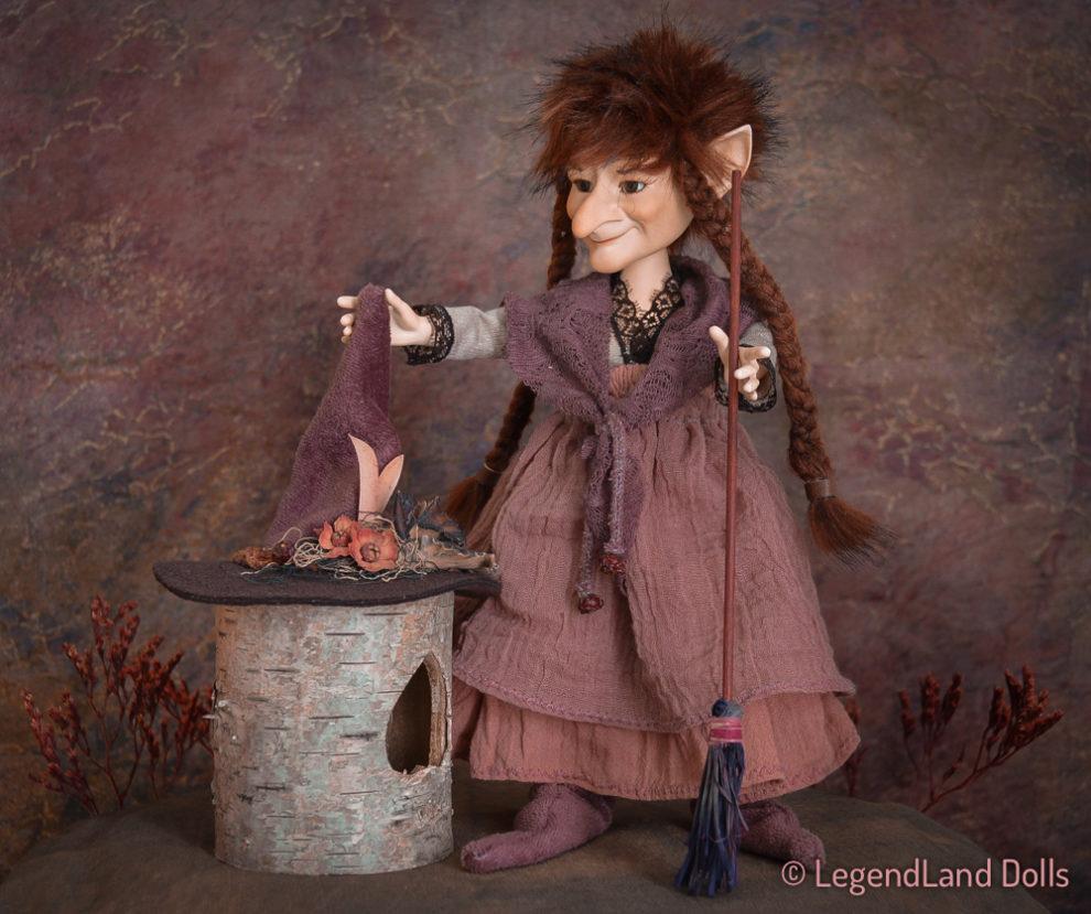 Boszorkány figura: Glenda - boszorkányok tanítója