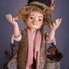 Kobold figura: Áron – szerelmetes kobold