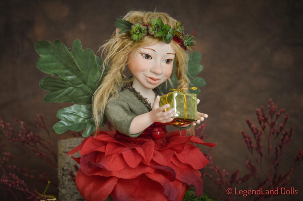 Tündér figura: Holly a Karácsony tündére