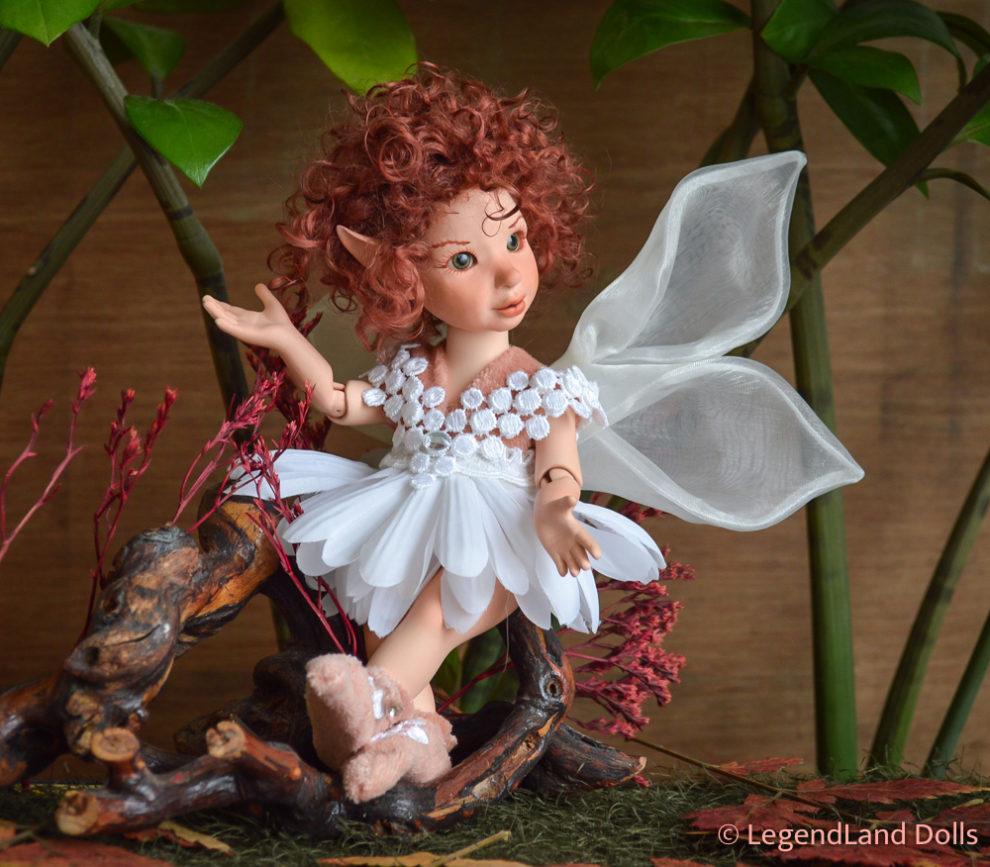 Tündér menyasszony figura - Nina | LegendLand Dolls