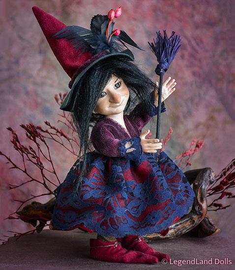 Boszi figura - Matilda a vajszívű | LegendLand Dolls