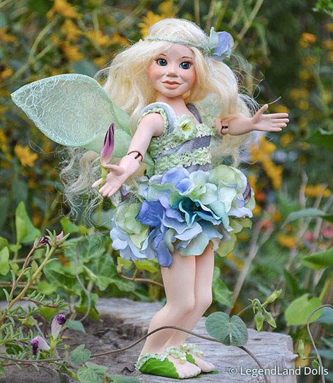Serafina - víztündér | LegendLand Dolls