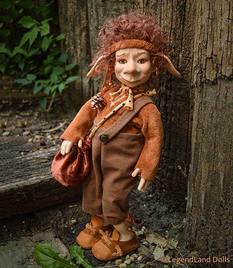 Kobold figura - Aladár kalandor kobold | LegendLand Dolls