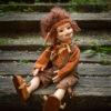 Kobold figura – Aladár kalandor kobold | LegendLand Dolls