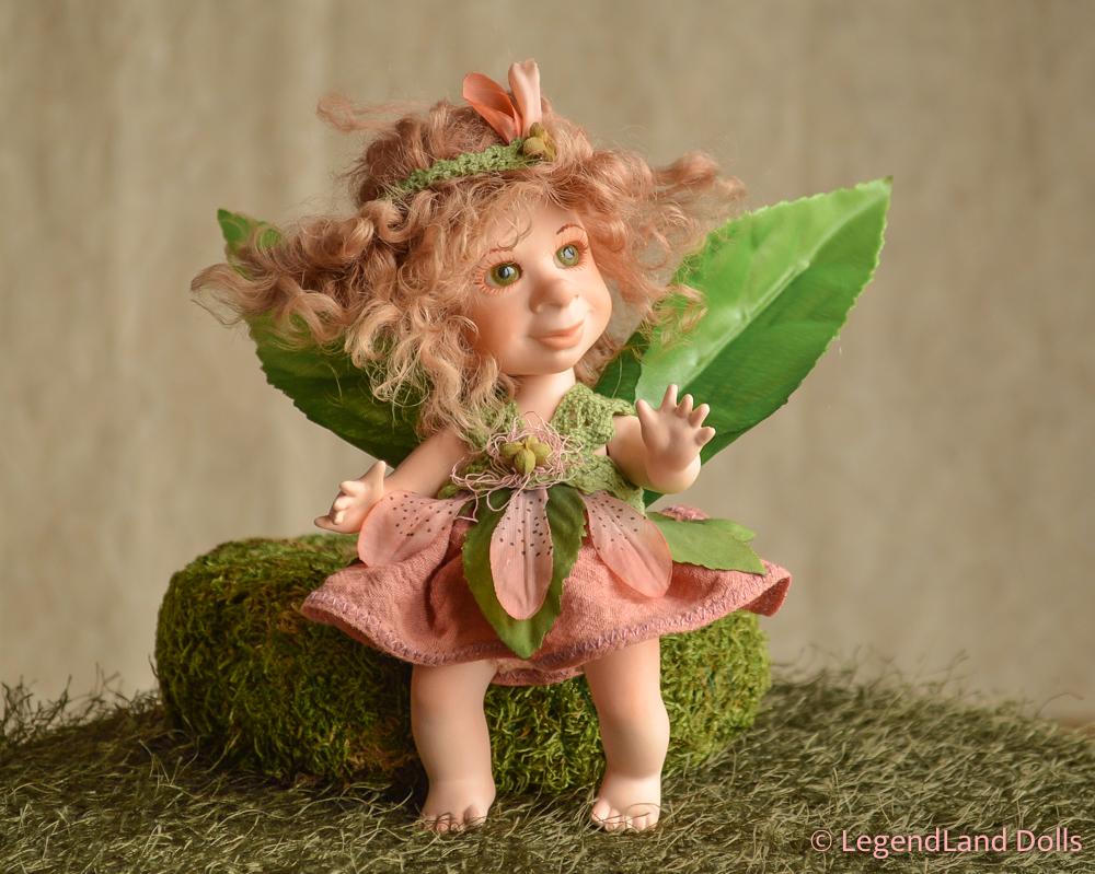 Tündér figura - Gréti a réti tündér | LegendLand Dolls