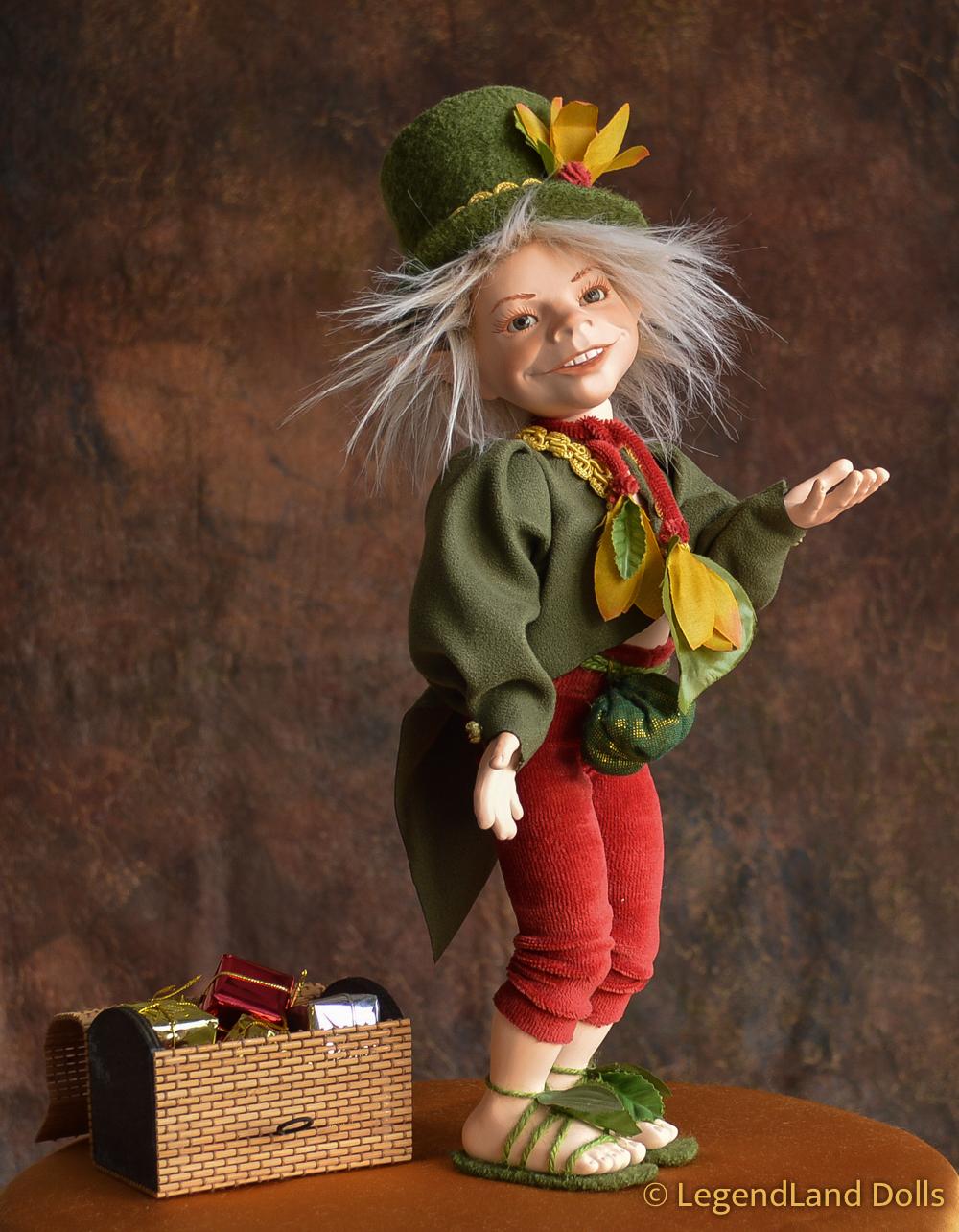 Kobold figura: Krisztofer - cirkuszi porondmester | LegendLand Dolls