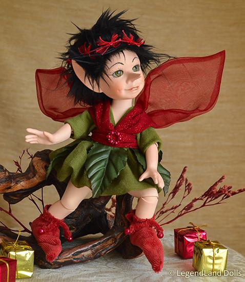 Tündér figura: Lola a meglepetés tündére | LegendLand Dolls