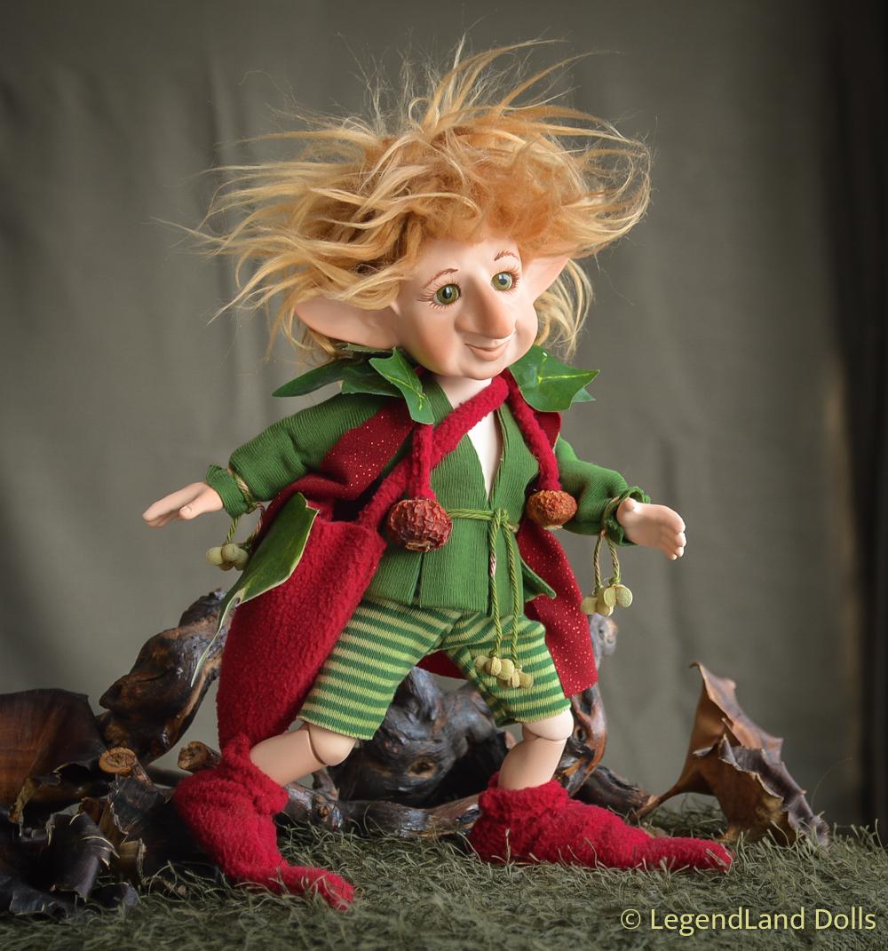 Manó figura: Zsiga - erdei postás | LegendLand Dolls