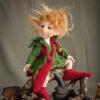 Manó figura: Zsiga – erdei postás | LegendLand Dolls