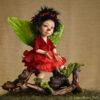 Tündér figura: Bella – rózsatündér | LegendLand Dolls