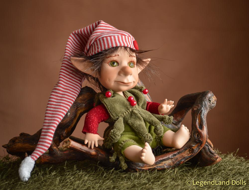 Manó figura - Milkó az álommanó | LegendLand Dolls