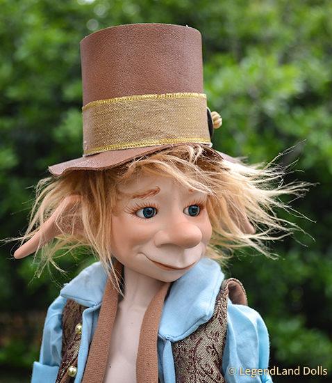 Kobold figura: Ármin - tündérleső kobold fickó | LegendLand Dolls