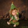 Manó figura – Benő szerencsehozó manó | LegendLand Dolls