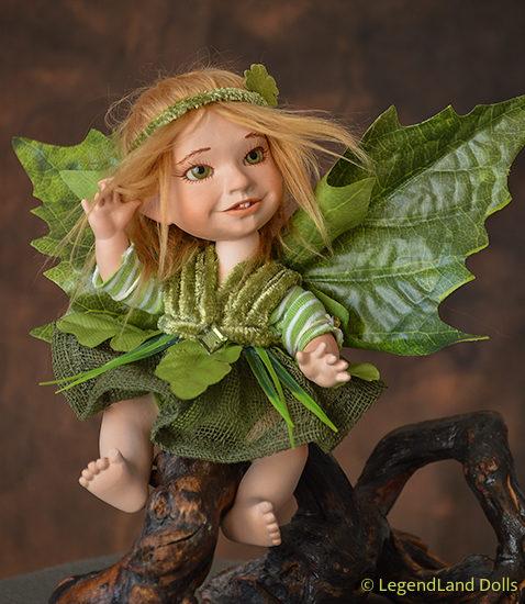 Tündér figura - Borka a szerencse tündére | LegendLand Dolls