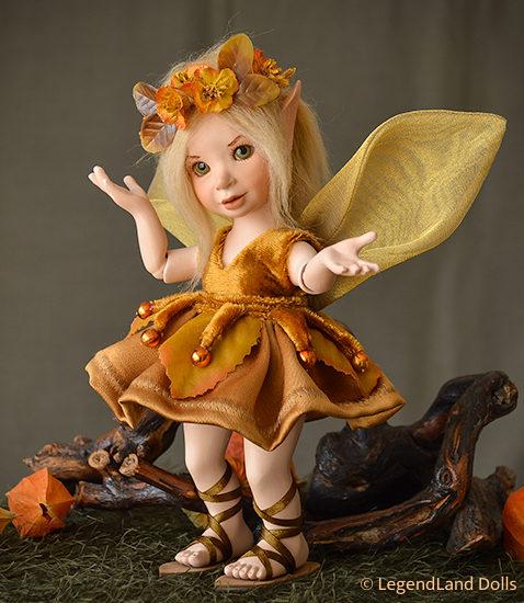 Tündér figura: Dorothy - Nap tündér | LegendLand Dolls