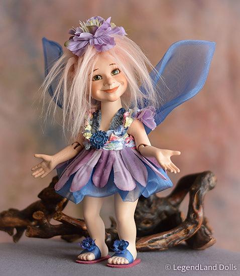 Tündér figura: Mindy - álomtündér | LegendLand Dolls