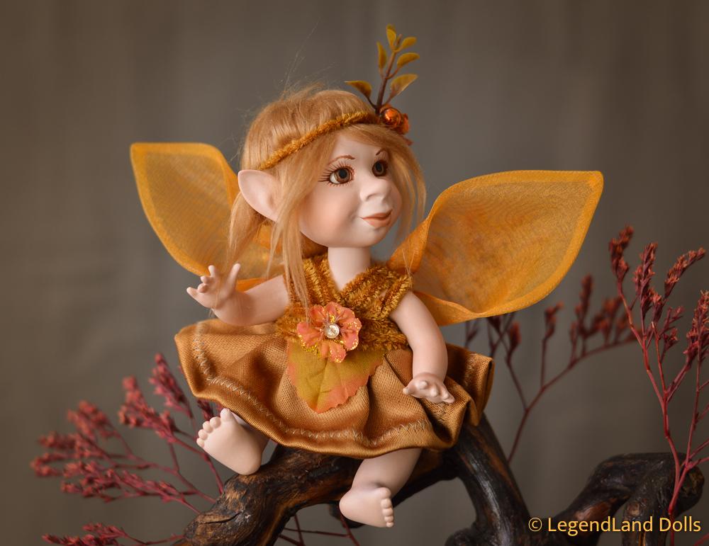 Tündér figura: Stefi - napsugár tündérke | LegendLand Dolls