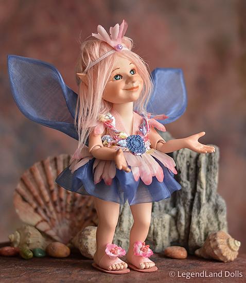 Tündér figura: Lindy - álomtündér | LegendLand Dolls