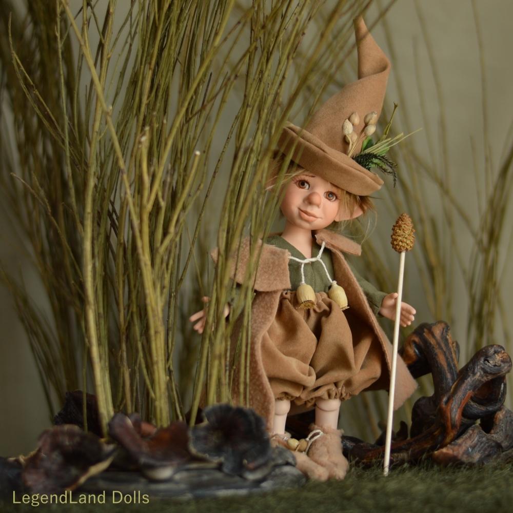 Benjámin - kis varázsló manó | LegendLand Dolls