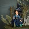 Boszorkány figura: Tessza – éjjeli boszorkány | LegendLand Dolls