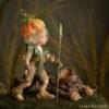 Elf figura: Tintin – levélharcos elf | LegendLand Dolls