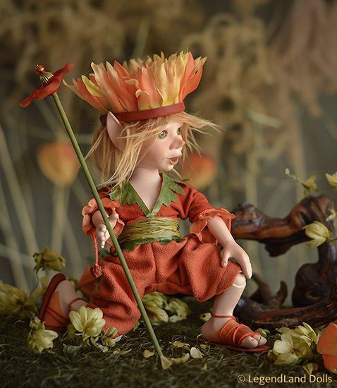 Elf figura: Fanfan - naplemente herceg | LegendLand Dolls
