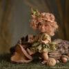 Elf figura: Galina – néger elf bébi | LegendLand Dolls