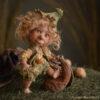 Elf figura: Soma – néger elf bébi | LegendLand Dolls