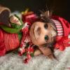 Karácsonyi manó figura: Zénó – apró Mikulás segéd | LegendLand Dolls