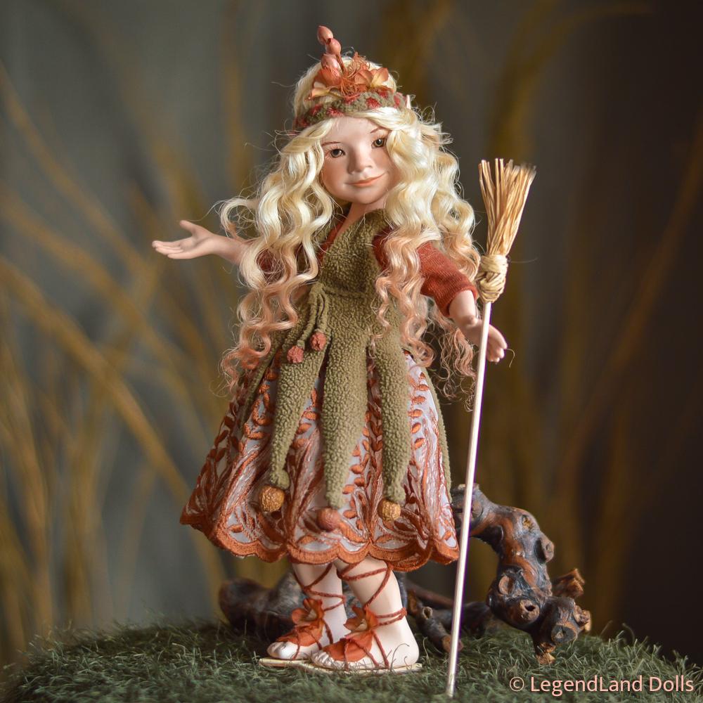 Boszorkány figura: Cornelia – igazmondó boszorka | LegendLand Dolls