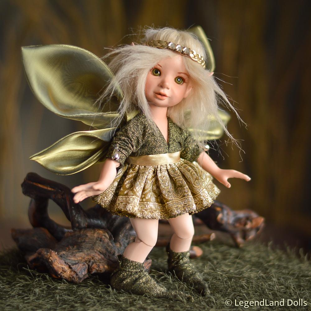 Tündér figura: Elsa a megújulás tündére   LegendLand Dolls