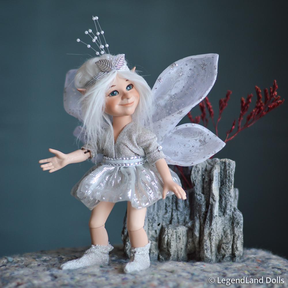 Tündér figura: Hokulani – fényes csillagtündér | LegendLand Dolls