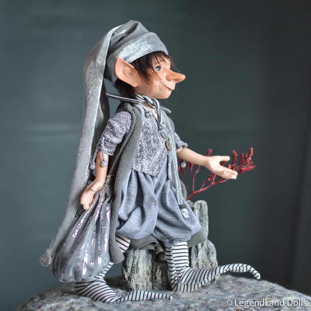Kobold figura: Joachim – űrfutár kobold | LegendLand Dolls