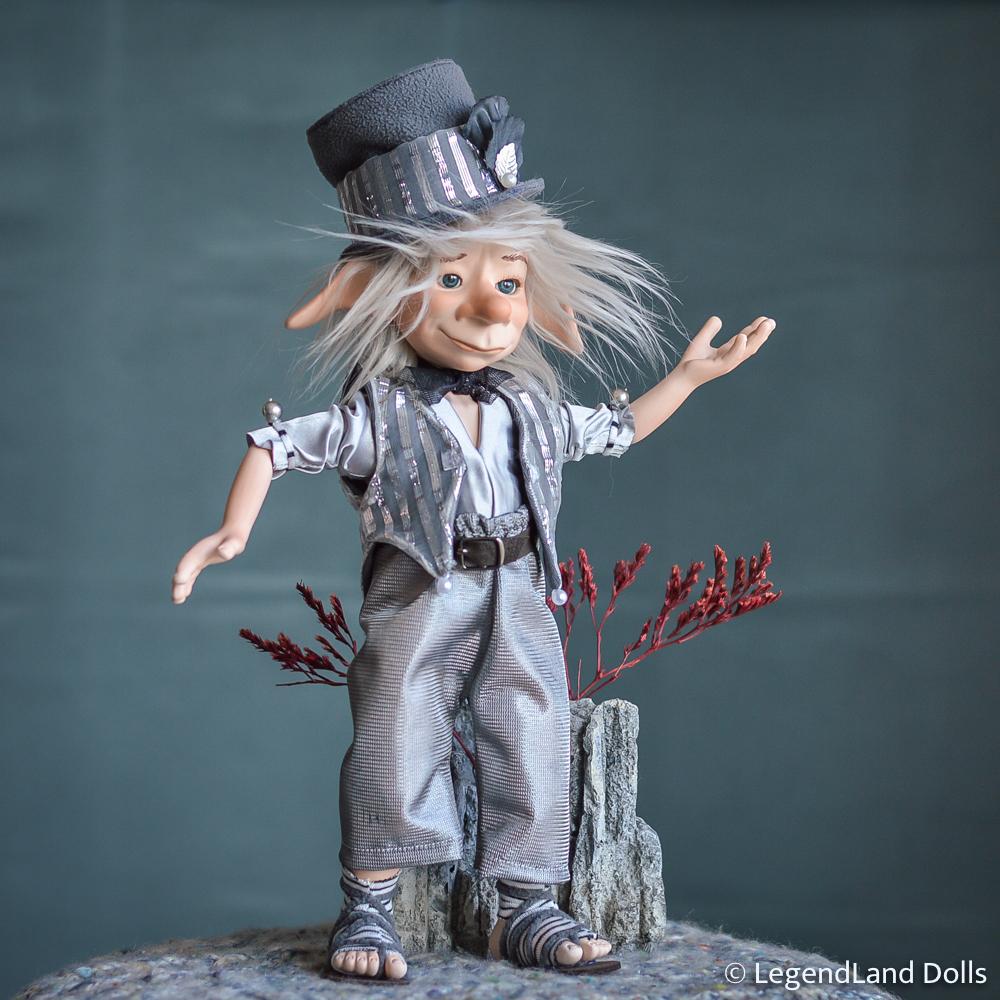 Kobold figura: Joel – meteorfényesítő kobold | LegendLand Dolls
