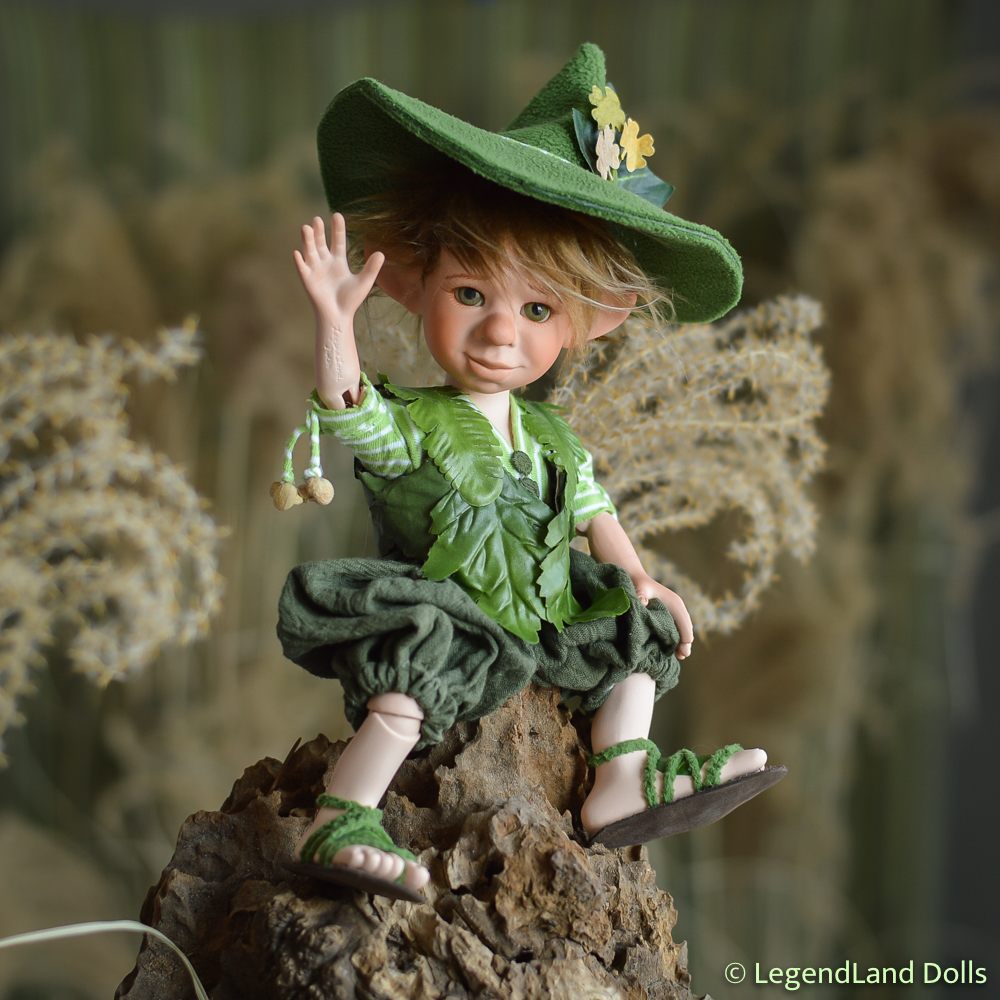 Manó figura: Martin - kertész manó | LegendLand Dolls
