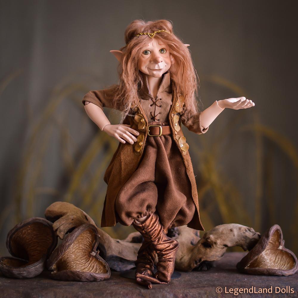 BJD baba: Takoda - álomlátó sámán elf BJD | LegendLand Dolls