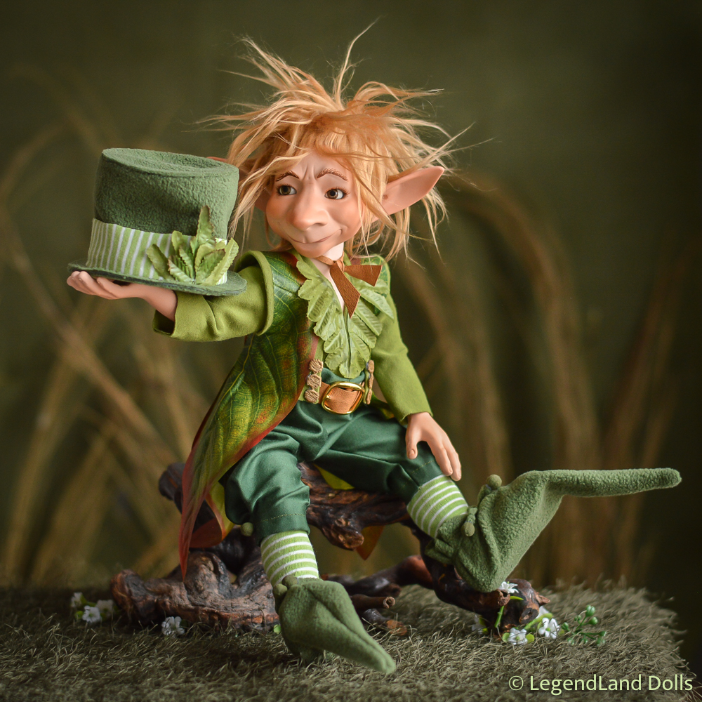 Tenaya kobold - Leprechaun | LegendLand Dolls